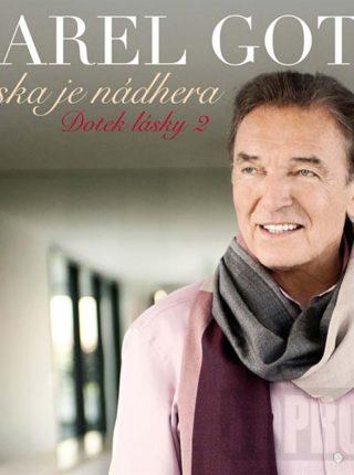 CD Karel Gott - Láska je nádhera - Dotek lásky